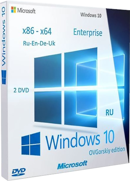 Windows 10 enterprise 1703 ISO 07.2017 RU UK EN DE (x64 x86)