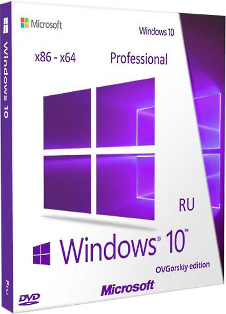 Windows 10 professional ovgorskiy VL