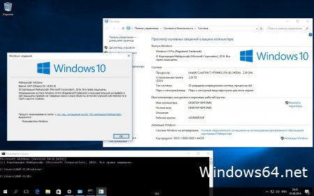 Оригинальный iso образ Windows 10 pro x64, x32