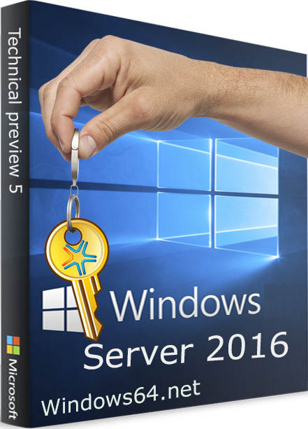 Коробка Windows Server 2016 ключ активатор