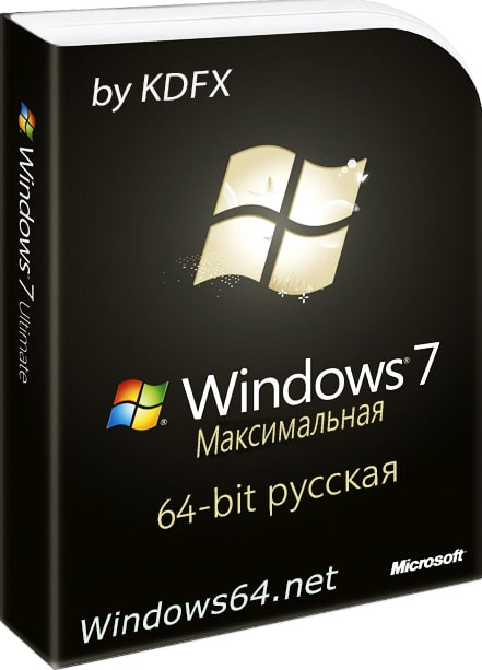 Windows 7 by kdfx x64 русская Ultimate SP1 лучшая