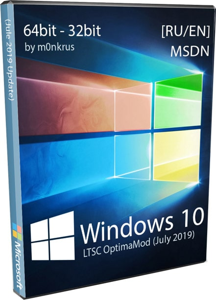 Windows 10 by m0nkrus x86/x64 1903 LTSC 2019 OptimaMod