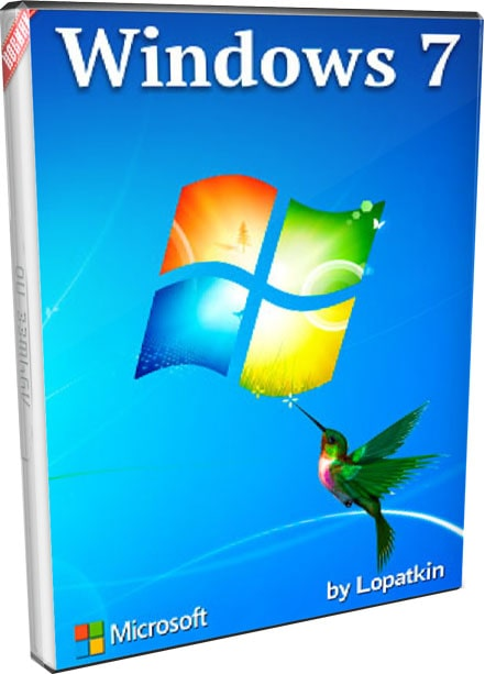 Лёгкая Windows 7 SP1 pro 64bit 32bit 2020